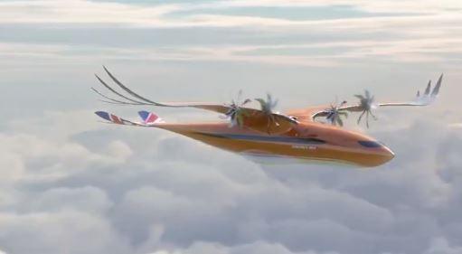 Airbus dévoile un avion oiseau original !