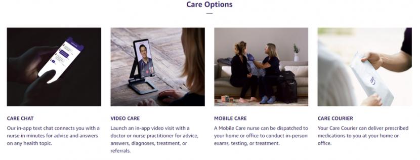 Amazon lance une clinique virtuelle pour ses employés