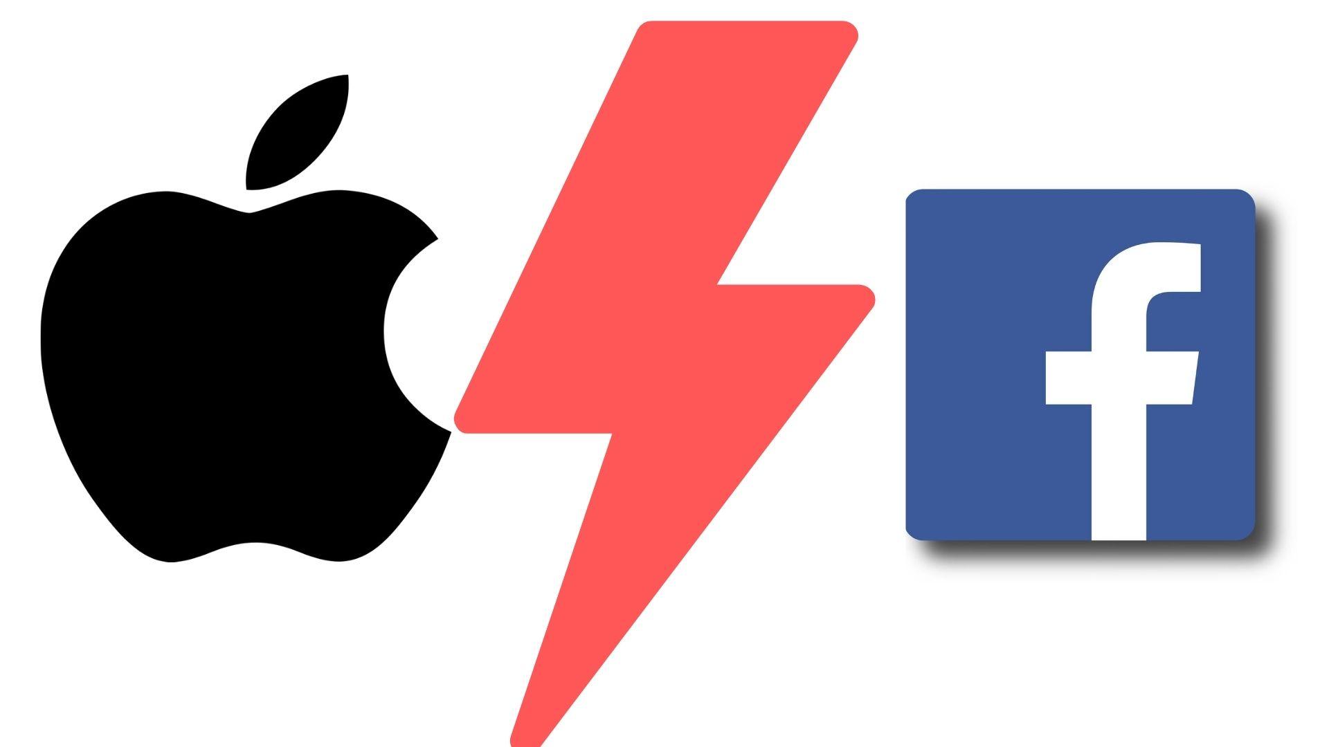 Début d'un bras de fer entre Facebook et Apple ?